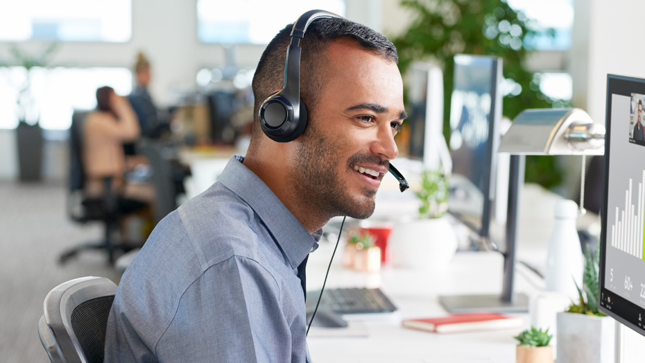 Najlepšie kancelárske slúchadlá od 20 do 60 eur - 2021
