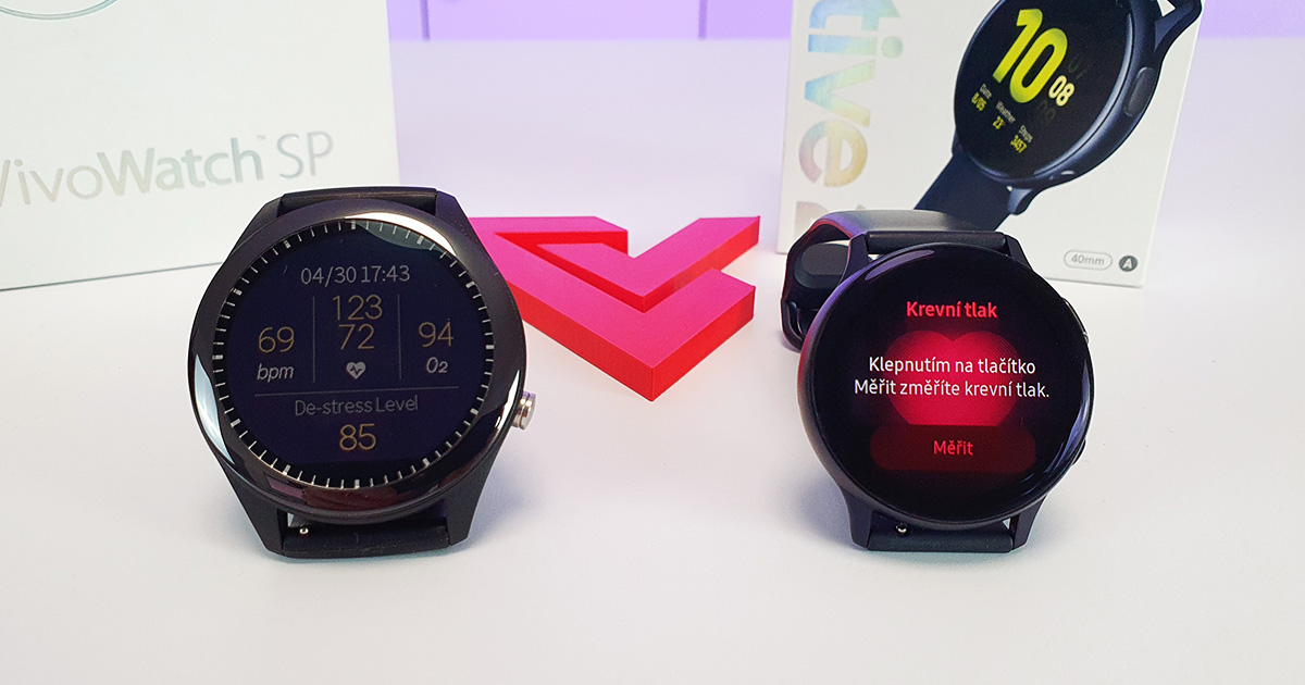 Hodinky na meranie krvného tlaku (a EKG) - porovnanie Asus vs. Samsung