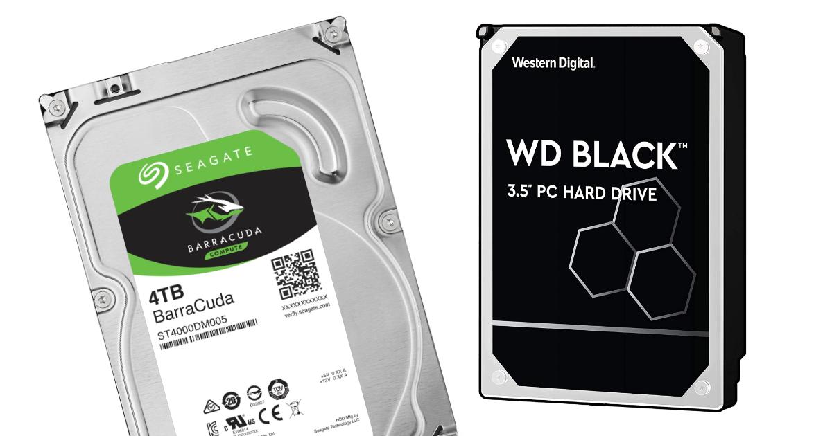 Najlepšie pevné disky (HDD) pre PC i server - 2021